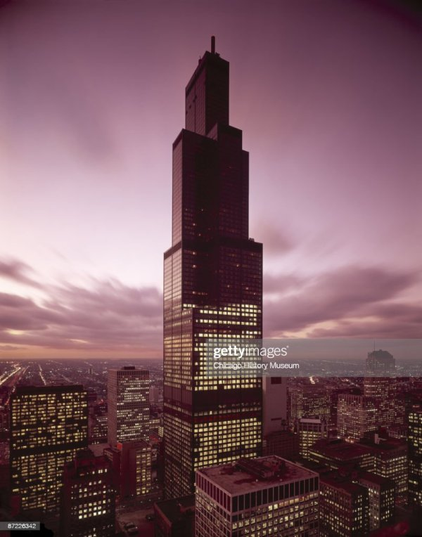 York And Chicago Tallest Buildings Getty
