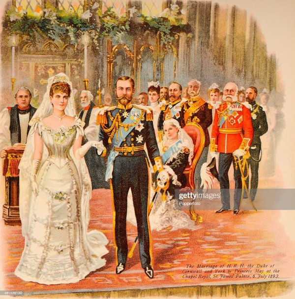 King George V and Queen Mary Wedding