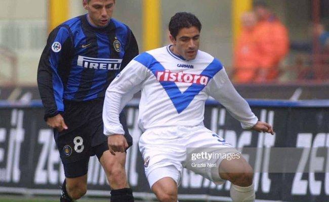 Vladimir Jugovic Of Inter Milan And Massimiliano Esposito