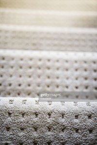 White Carpet With Square Pattern On Stairs Stock Photo ...