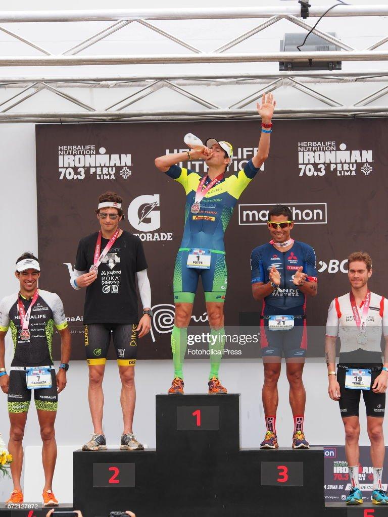 1st 2nd 3rd Podium : podium, Winners, Podium;, Potts, Jesse, Thomas, Felipe..., Photo, Getty, Images