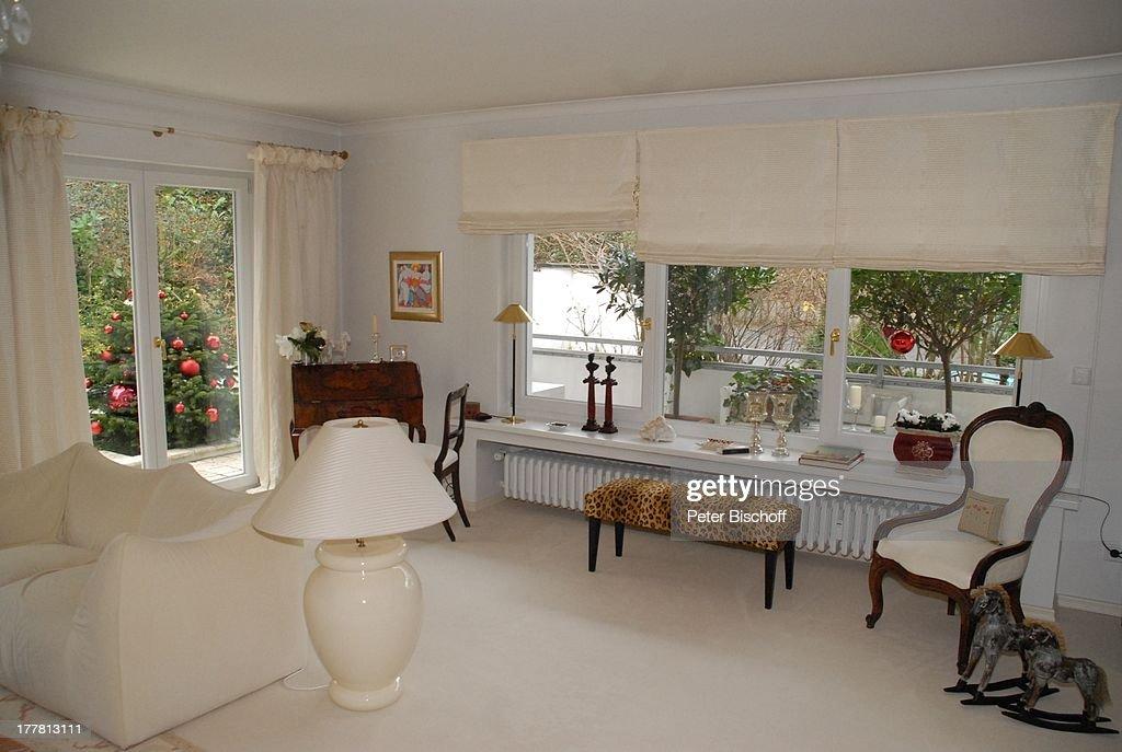 Wohnung von Heide Keller Homestory Bad Godesberg  Bonn Nachrichtenfoto  Getty Images