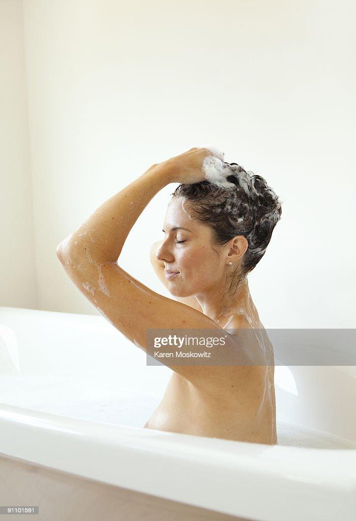 top washing hair