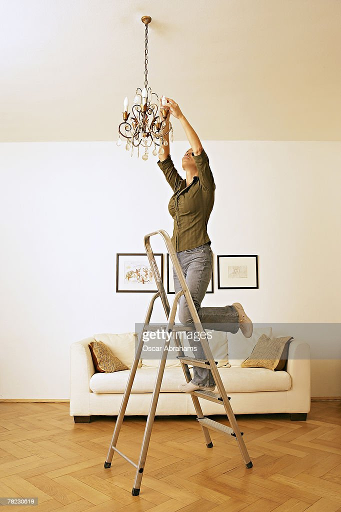 Changing Light Bulb