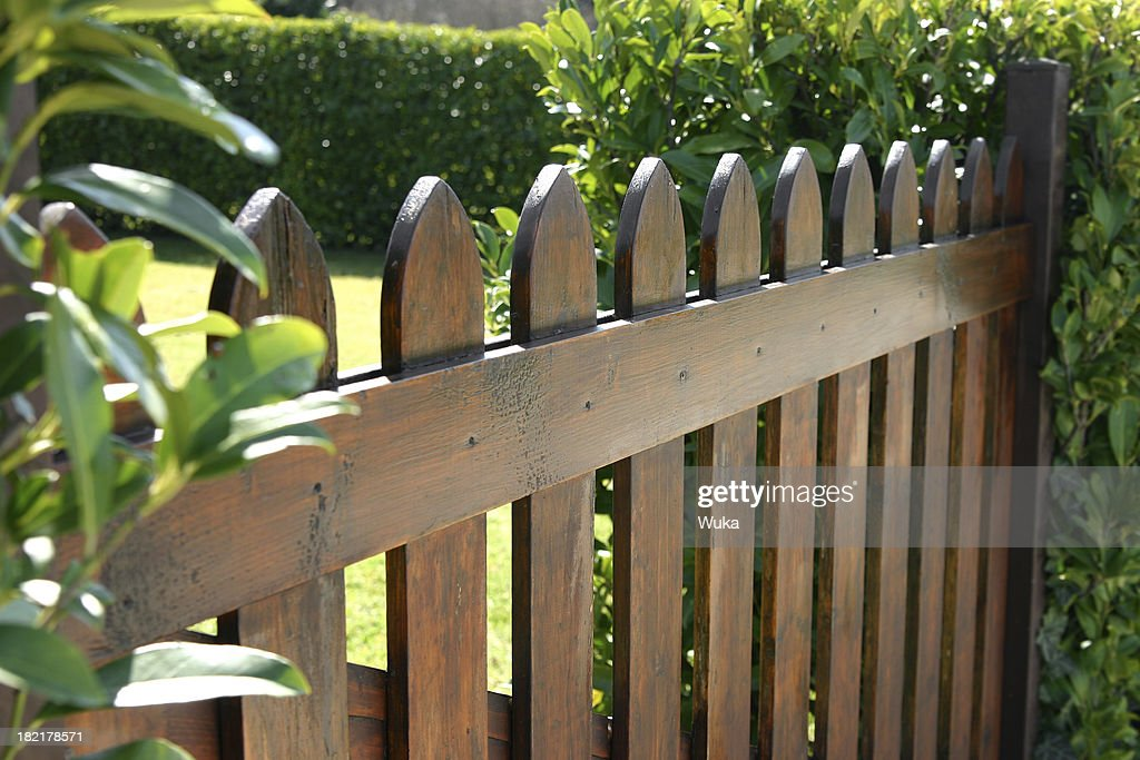 60 top wood fence