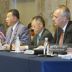 What Is A Chairperson In Meeting Marine Bean Bag Chairs Yoshiro Mori 3rd L Of The Pictures Getty Images