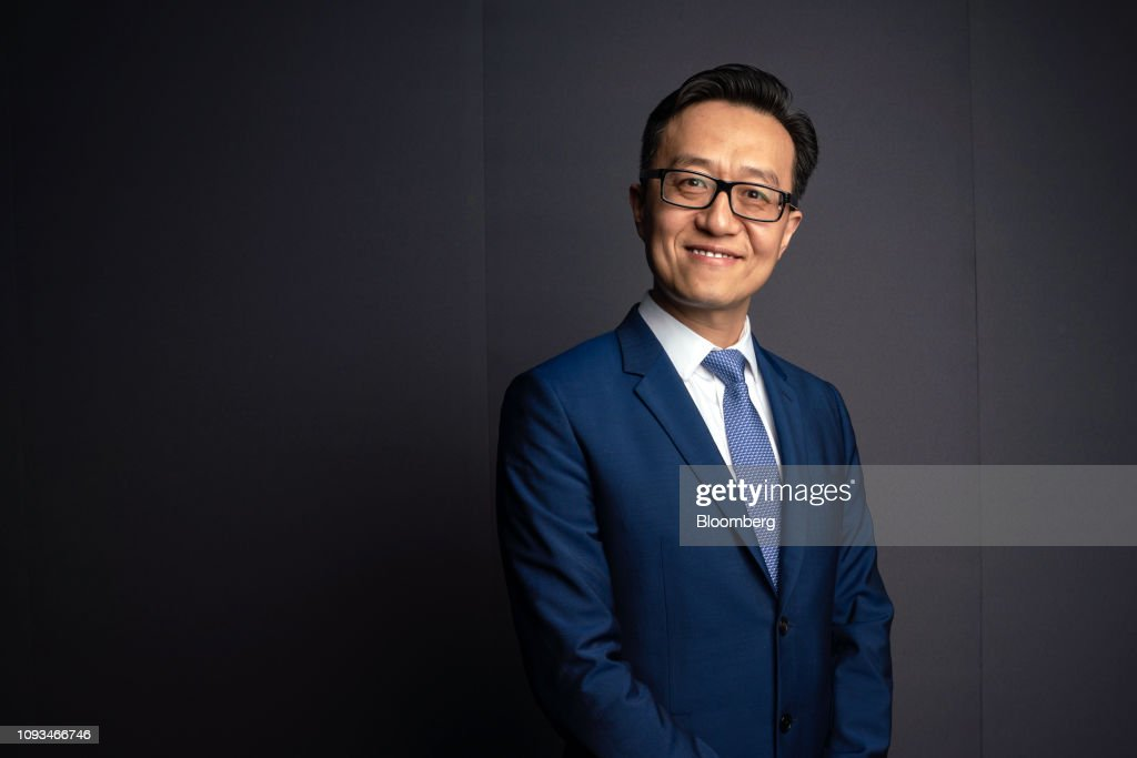 Zheng Zhihao. chief executive officer of Maoyan Entertainment. poses... Nachrichtenfoto - Getty Images