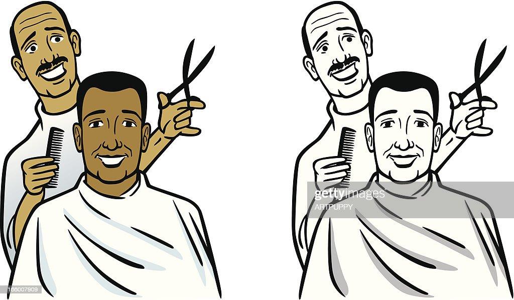 barber premium stock illustrations