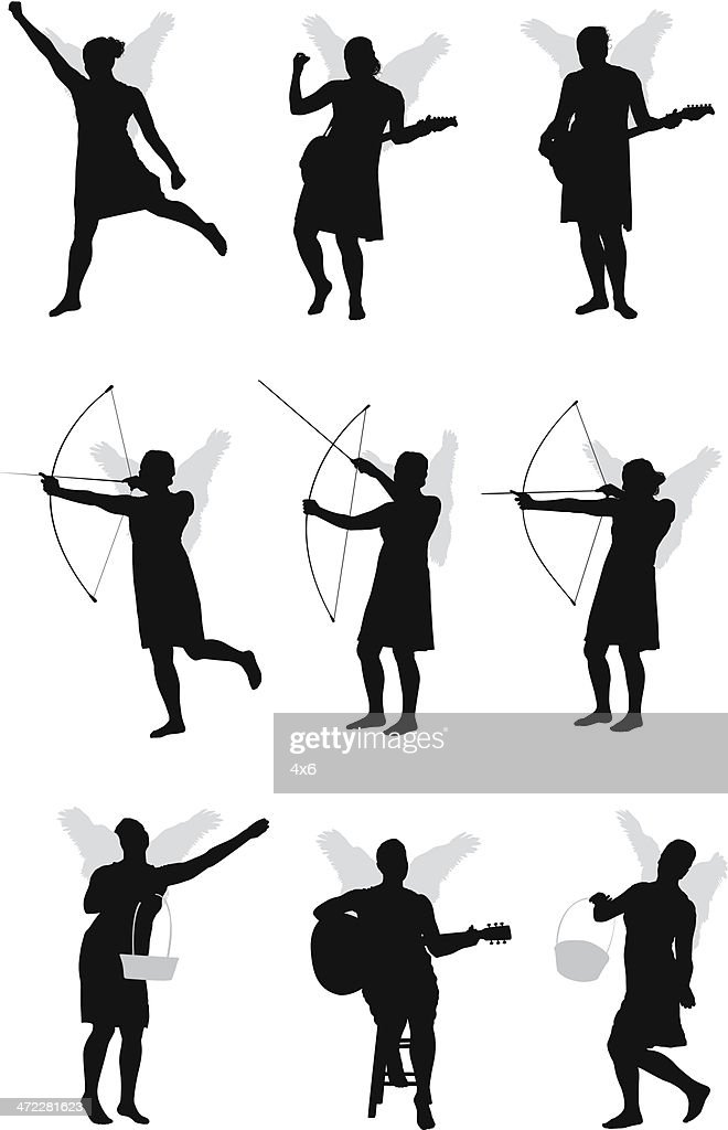 Cupid With Arrow Stock Photos And Pictures Getty Images