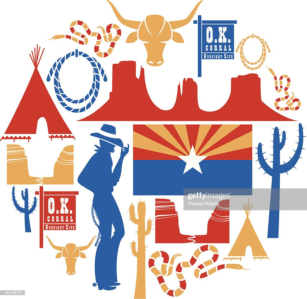 hight resolution of arizona icon set