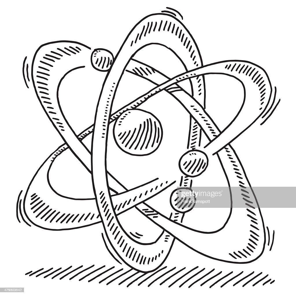atomic symbol diagram 1993 mazda b2600 radio wiring atommolekül science abbildung vektorgrafik getty