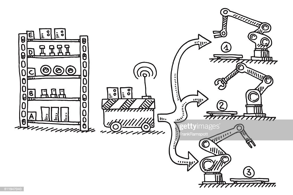 Line Drawing Furniture Clip Art Stock Illustrations And