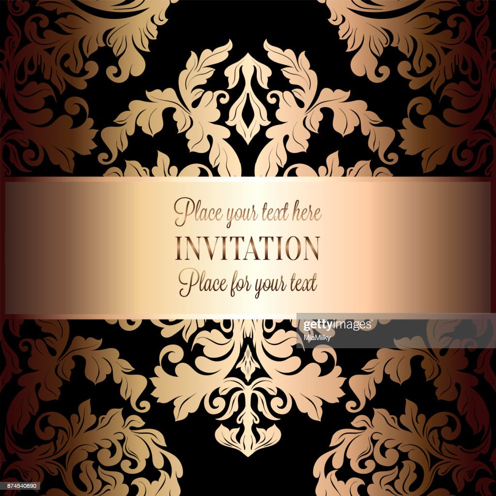https www gettyimages ca detail illustration baroque background with antique luxury black royalty free illustration 874540890 language fr