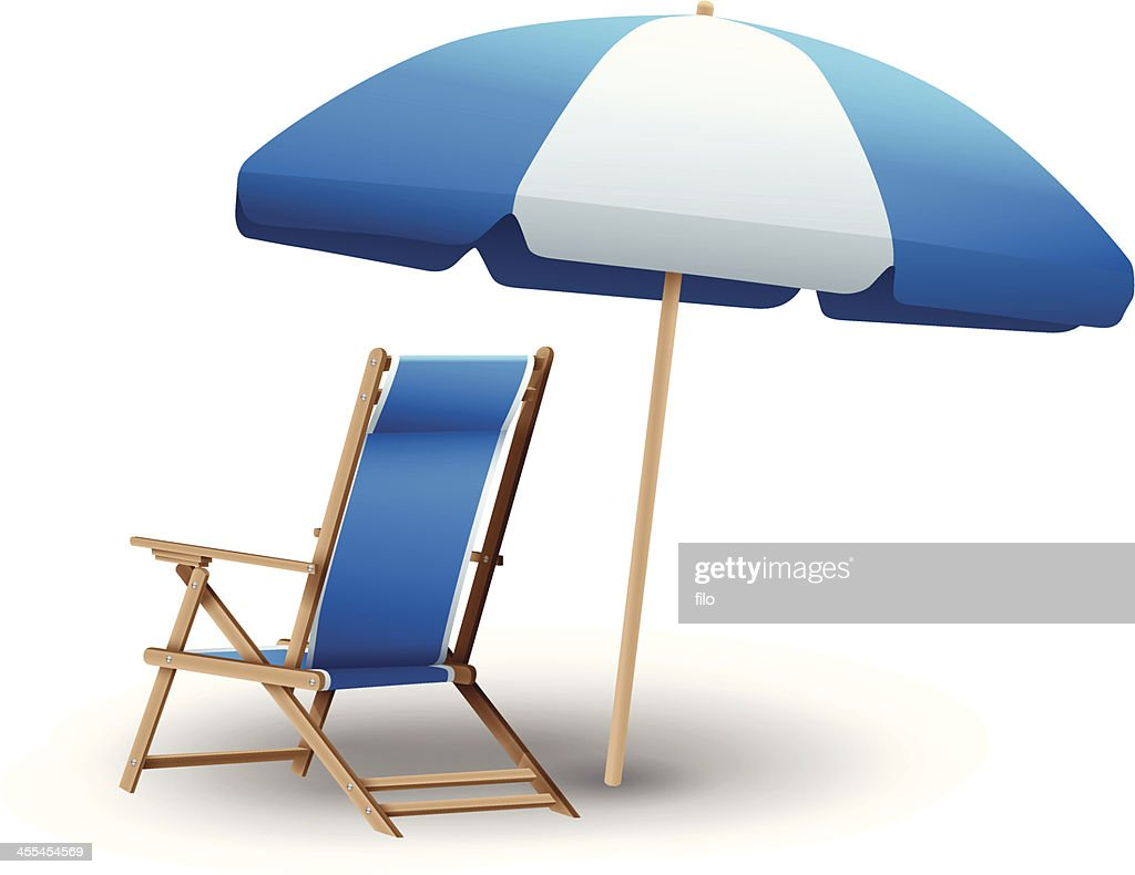 https www gettyimages ca detail illustration beach chair and umbrella royalty free illustration 455454569 language fr