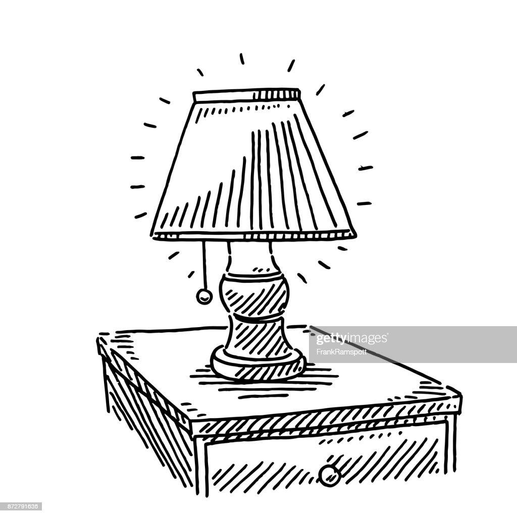 226 table de chevet illustrations getty images