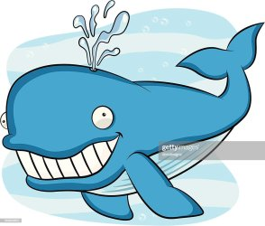 Blue Whale Cartoon High Res Vector Graphic Getty Images