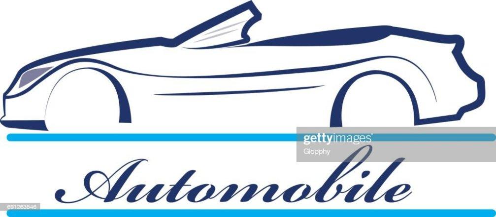 Auto Emblem Silhouette Vektorgrafik Thinkstock