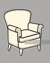 Armchair Stock Illustrations And Cartoons | Getty Images