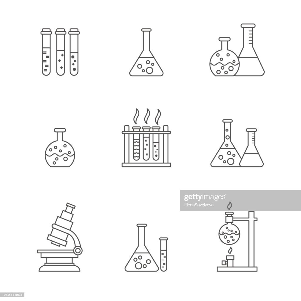 chemical processing equipment icons