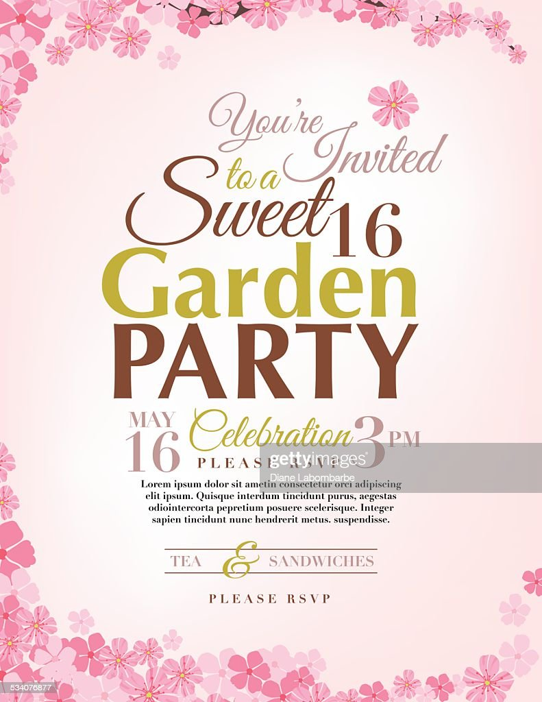 https www gettyimages com detail illustration cherry blossoms sweet 16 birthday party royalty free illustration 534076877