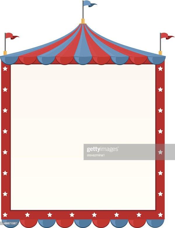 circus border vector art getty