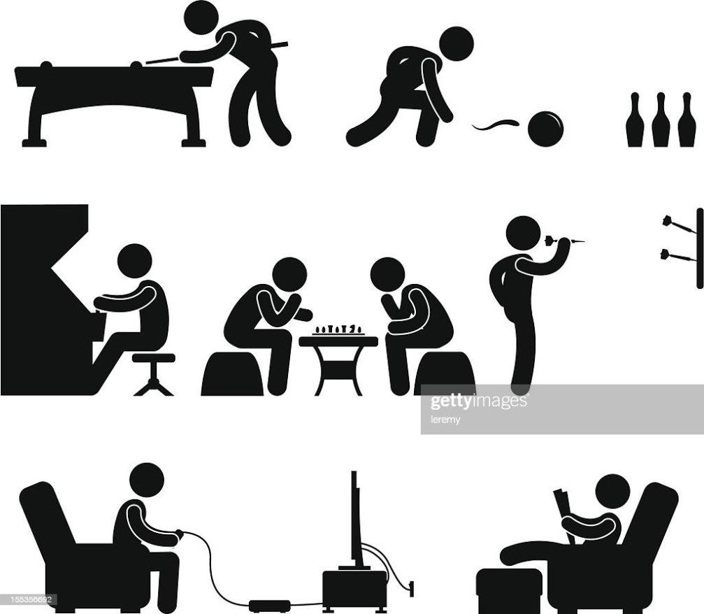 Club Indoor Activity Pictogram Stock Vector Thinkstock