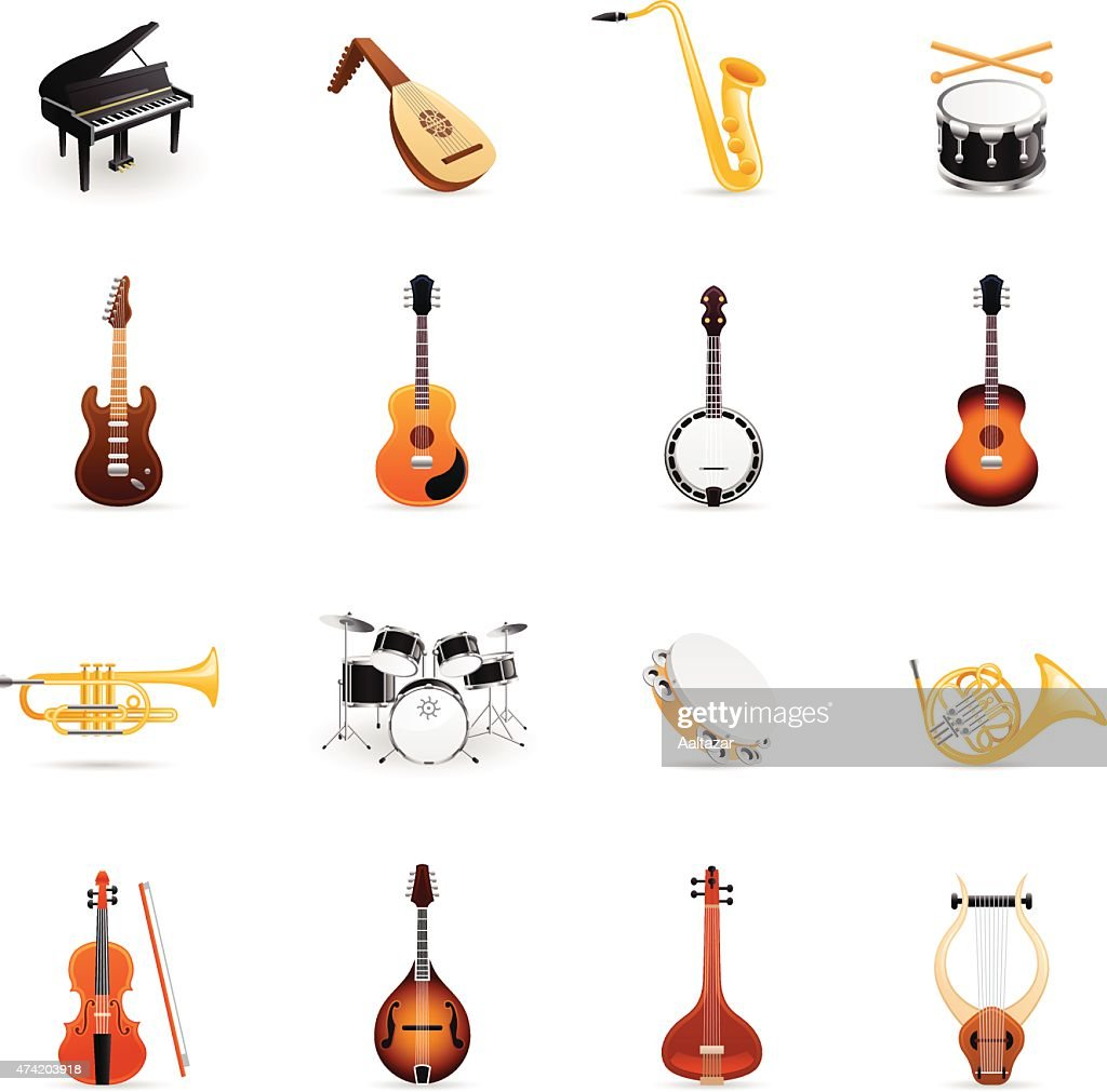 https www gettyimages fr illustrations instrument de musique