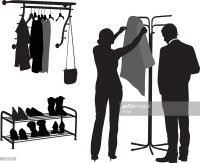 Coat Rack Stock Illustrations and Cartoons | Getty Images