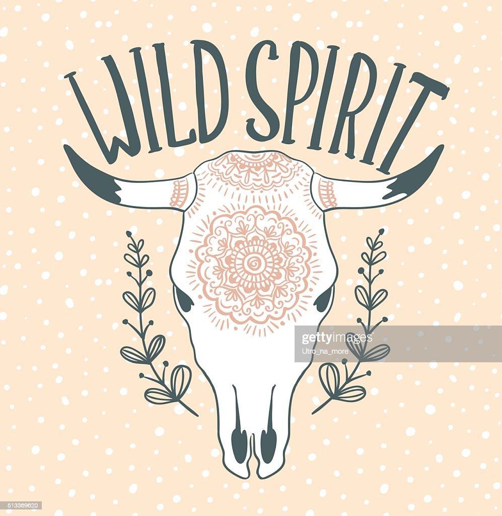 cow skull with leaves isolated on pink background boho style vector id513369620?b\=1\&k\=6\&m\=513369620\&s\=170x170\&h\=C410n41mafZ DxlHIjHtNHQu5tGYYIjxdwQ_X_NRlvI\=?w=500 cow skull diagram frontal bone wikipedia