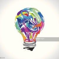 Creative Painting Idea Vector Art | Thinkstock