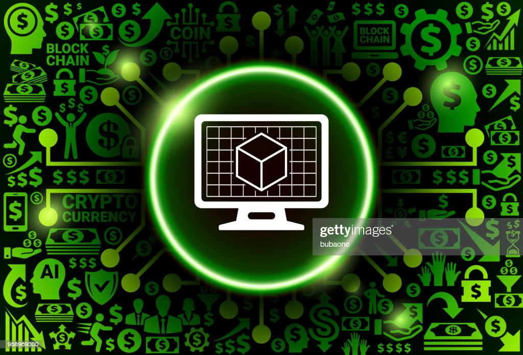 https www gettyimages ch detail illustration cube on desktop screen icon on money and lizenfreie illustration 958969300 language fr