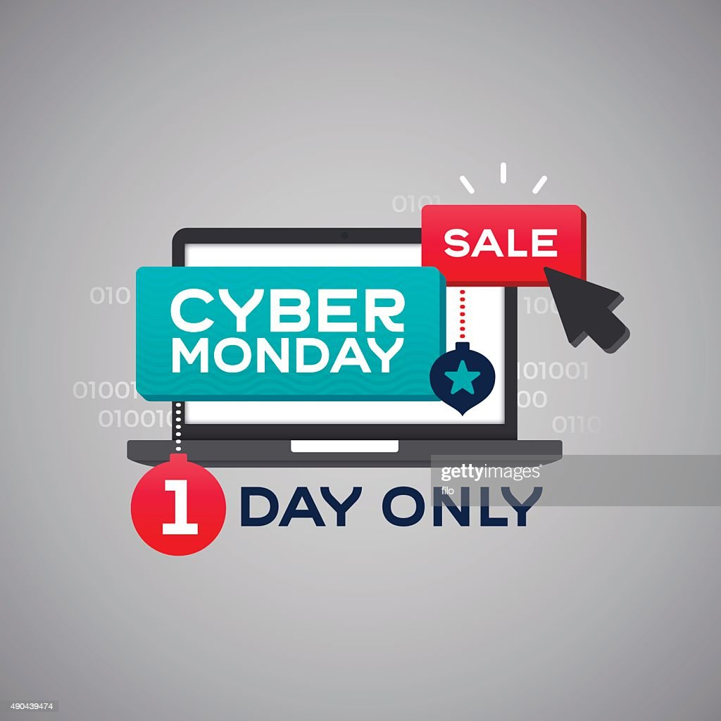 Cyber Monday Sale Vector Art Getty Images