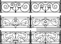 Wrought Iron Balcony Vector | Joy Studio Design Gallery ...
