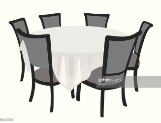 table dining silhouette vector dinner icon clip illustrations gettyimages istock graphics clipart vectors rf illustration