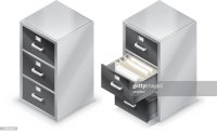 File Cabinet Vector Art   Getty Images