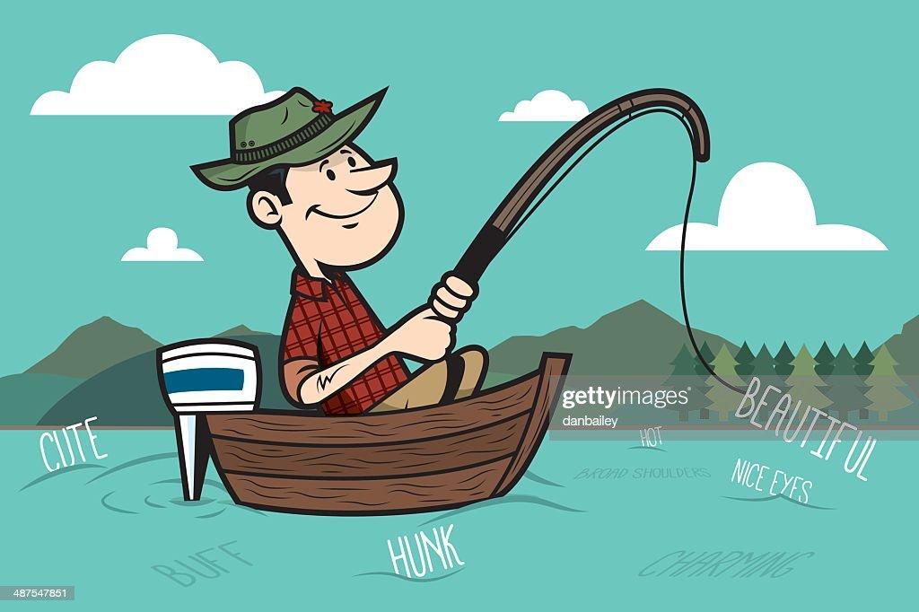 World's Best Fisherman Stock Illustrations