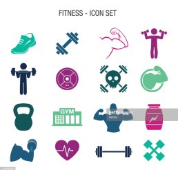 Fitness Icon Set High Res Vector Graphic Getty Images