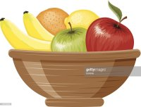 Fruit Bowl Vector Art | Getty Images