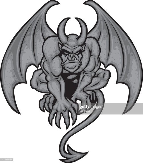 small resolution of simple gargoyle clipart hd 899 1024