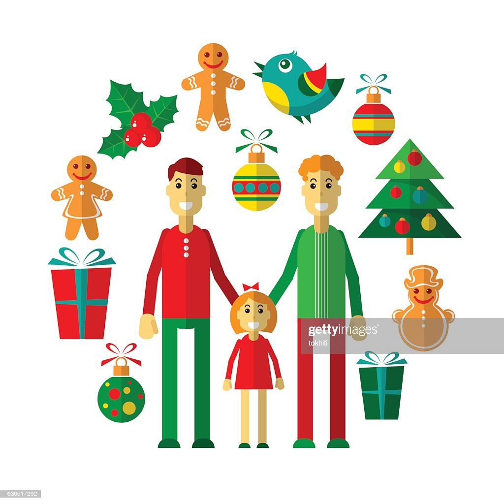 hight resolution of gay christmas 17 clipart vectoriel