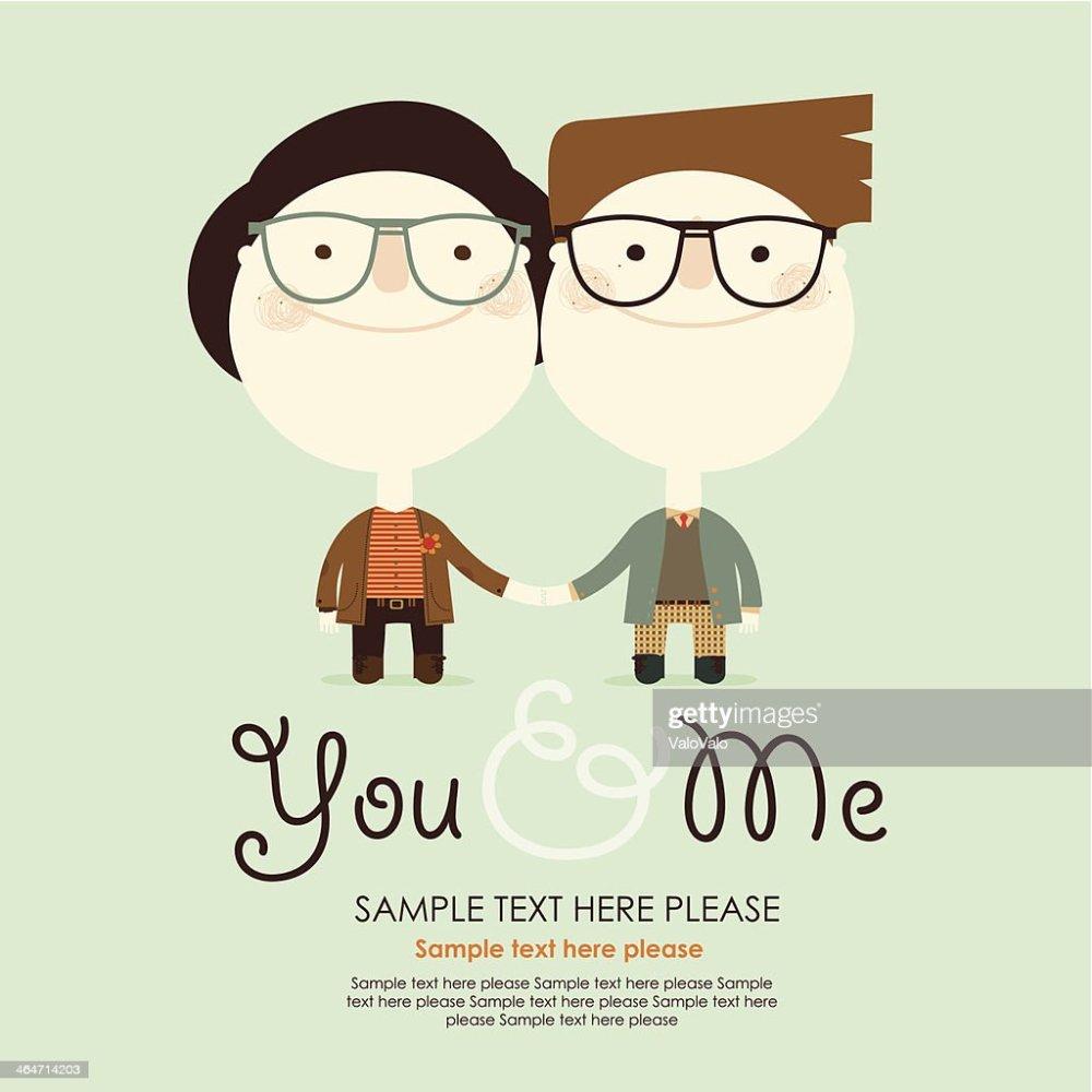 medium resolution of couple gay clipart vectoriel