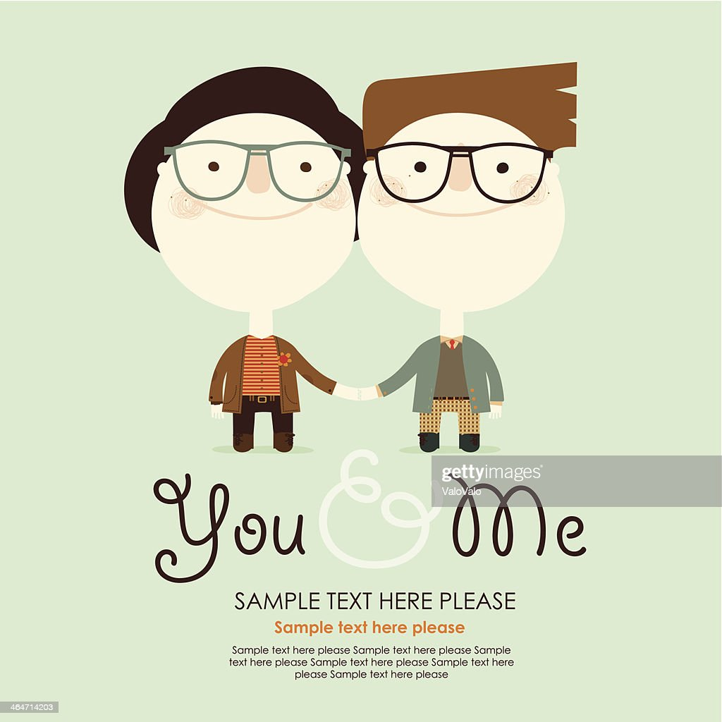 hight resolution of couple gay clipart vectoriel