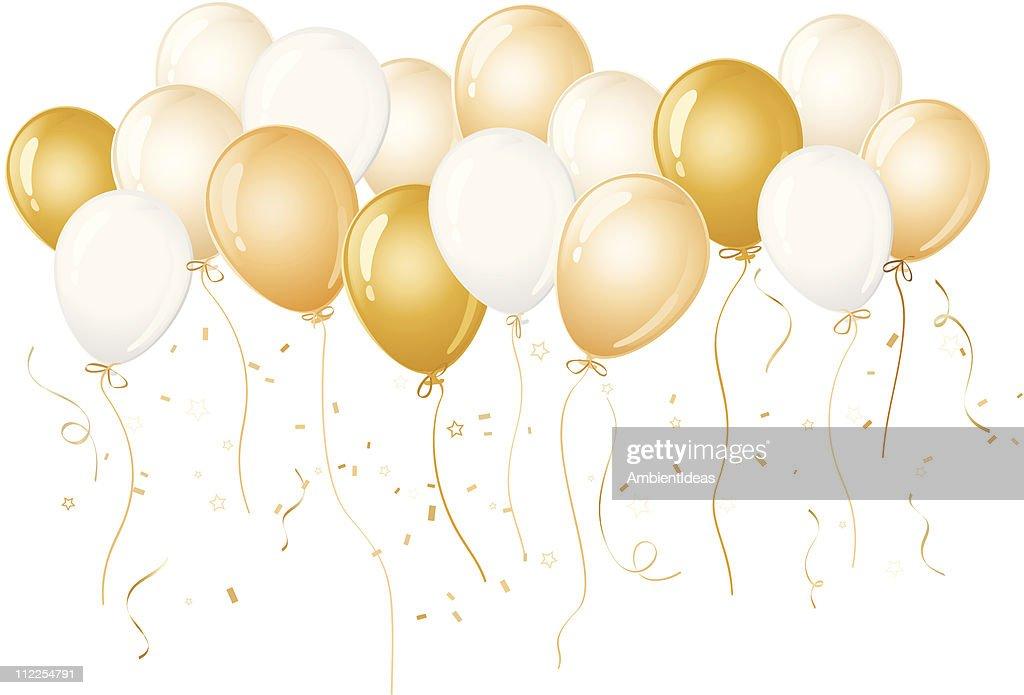 free gold balloon