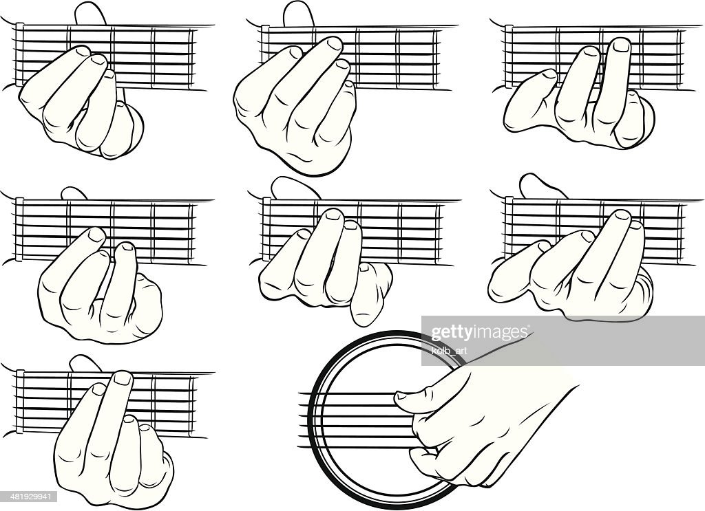 Left Handed Guitar Fretboard Diagram, Left, Free Engine