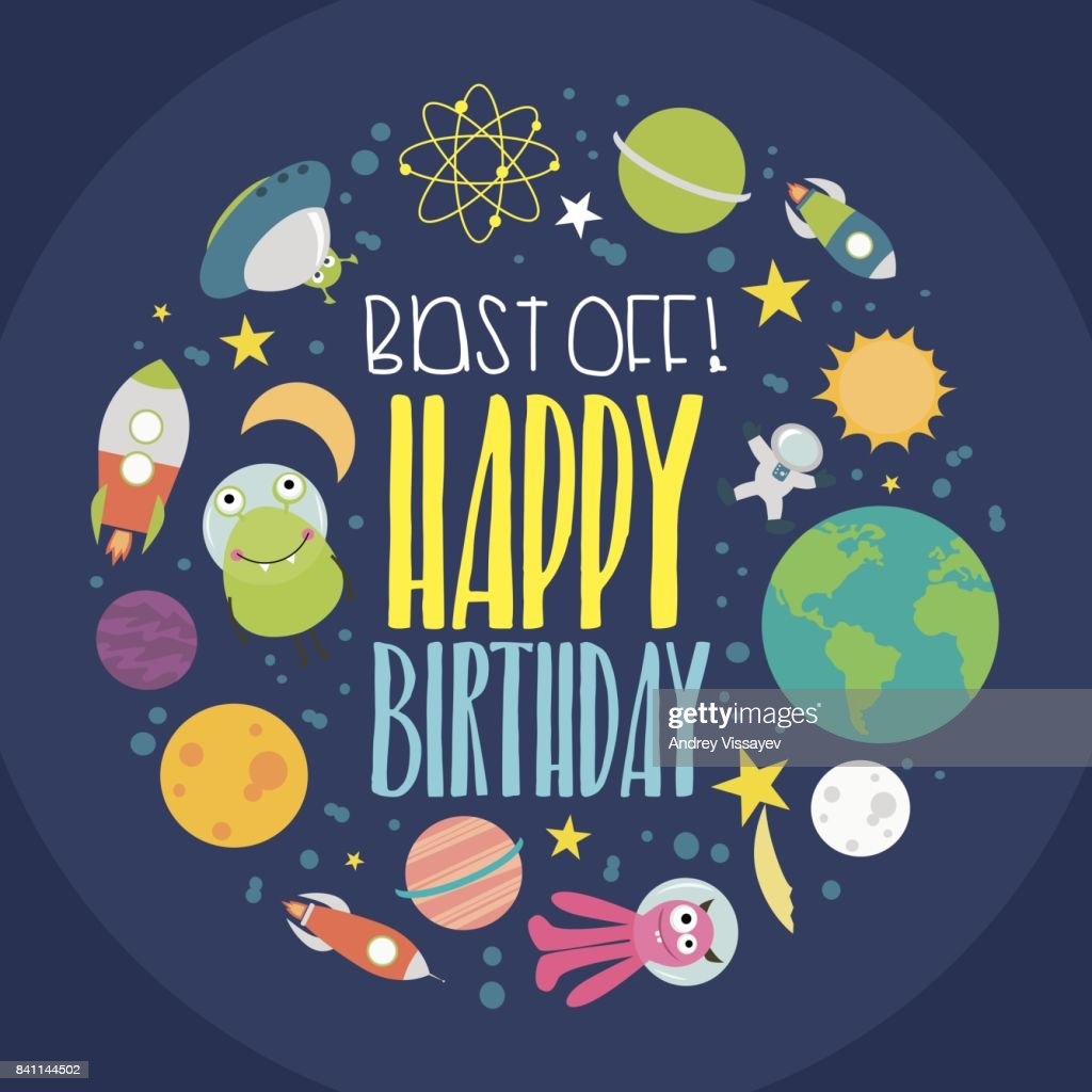 https www gettyimages com detail illustration happy birthday invitation or greeting card royalty free illustration 841144502