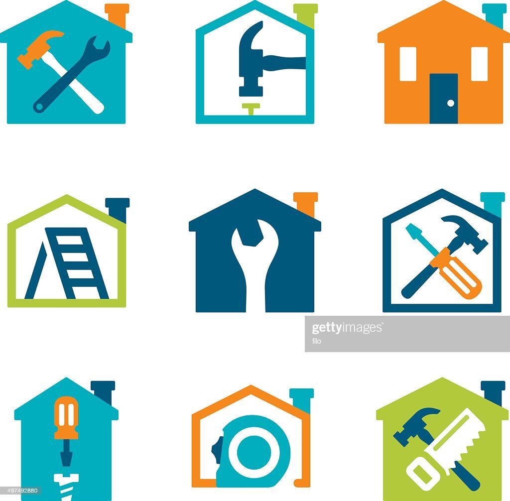 Home Remodeling And Repair High Res Vector Graphic   Getty Images