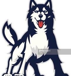 huskie mascot [ 885 x 1024 Pixel ]