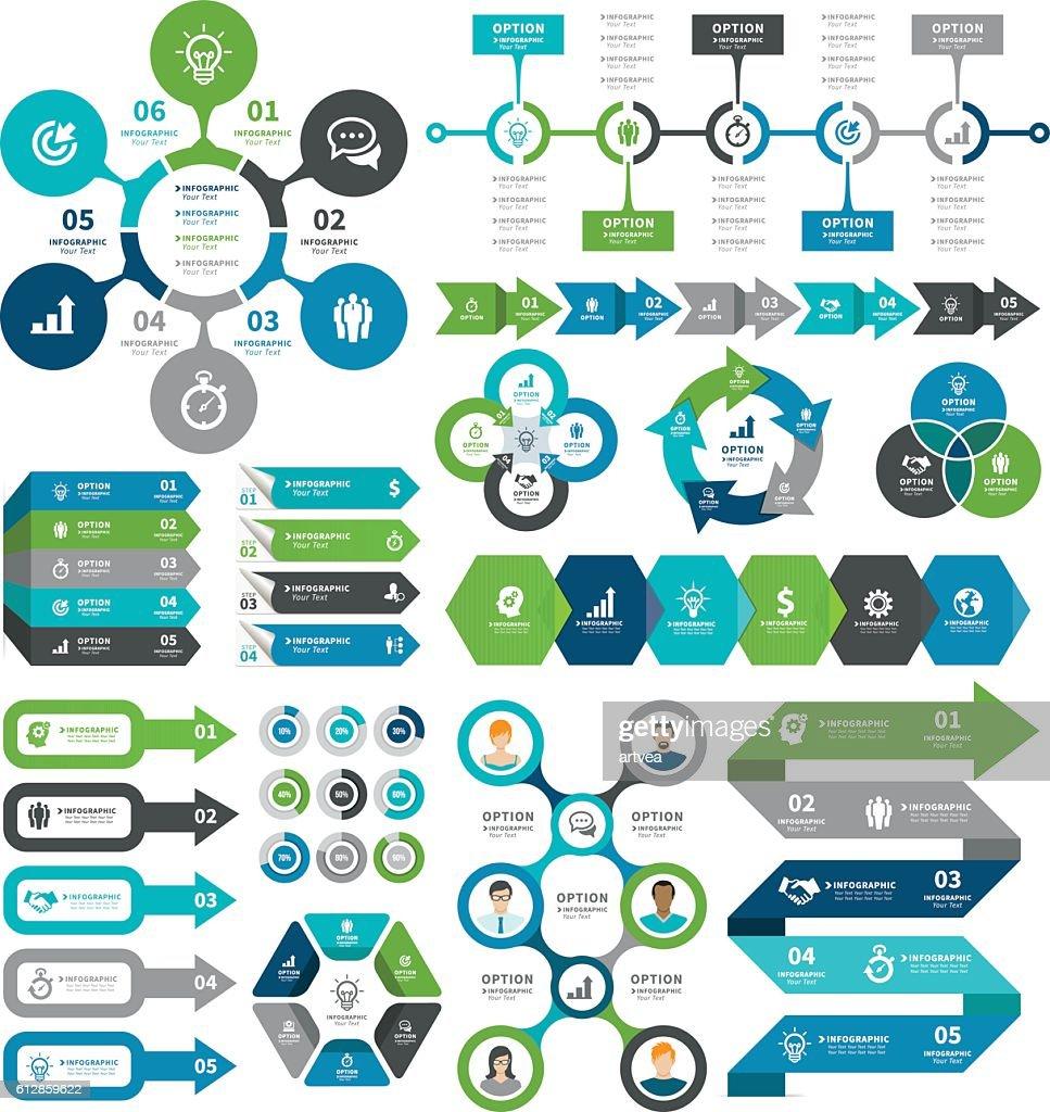 60 top infographic stock