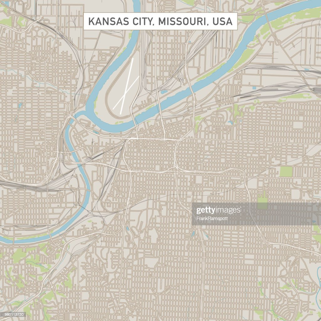 Street map for kansas city (missouri) with 3067 streets in list. 116 Kansas City Map Photos And Premium High Res Pictures Getty Images