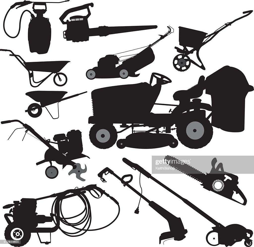 landscaping equipment yard work
